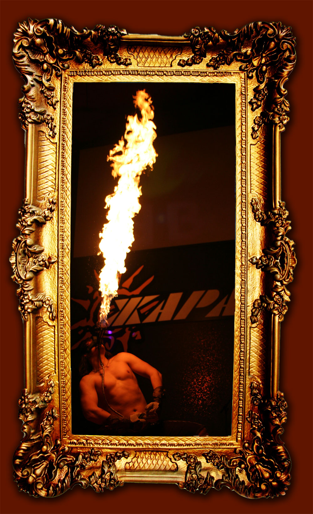 fire show Воронеж огненное шоу