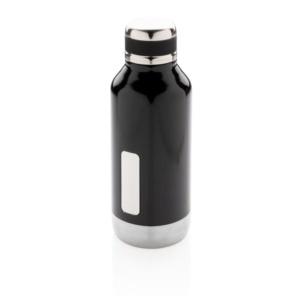 Герметичная вакуумная бутылка с шильдиком