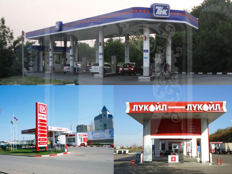 изготовление фризов для АЗС Воронеж