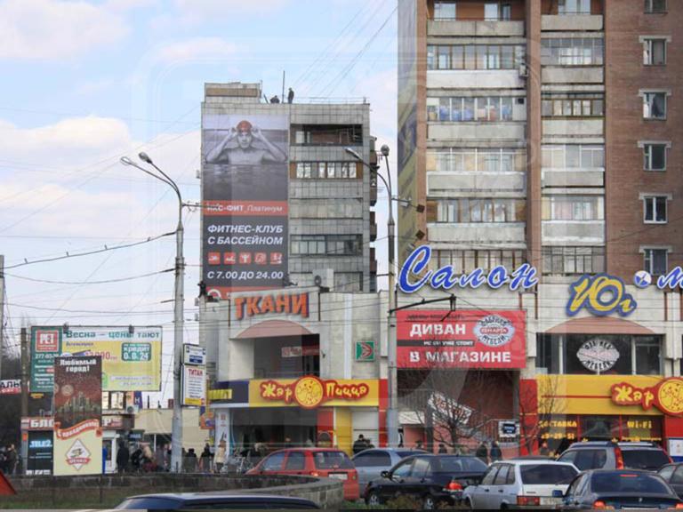 печать баннеров для щитов 3х6 в Воронеже