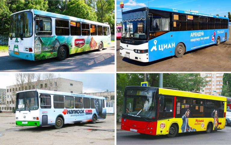реклама-на-транспорте-в-Воронее