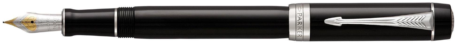 Перьевая ручка Parker Duofold F77 Centennial Black CT в Воронеже