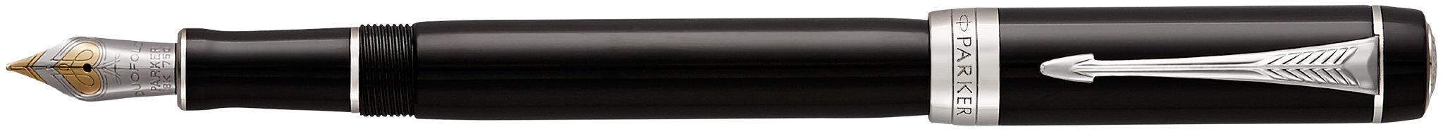 Перьевая ручка Parker Duofold F74 International Black CT в Воронеже