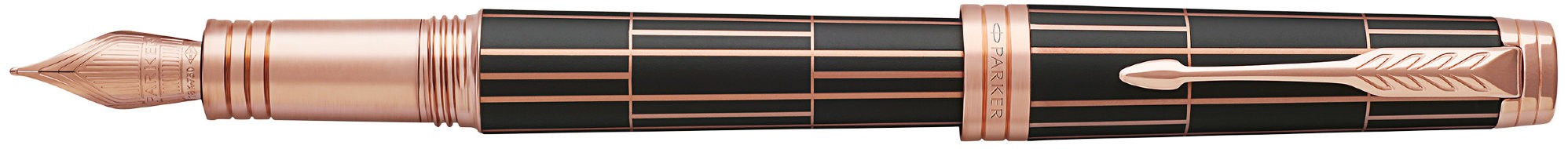 Перьевая ручка Parker Premier F565 Luxury Brown PG в Воронеже
