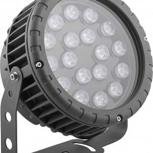 Светодиодный светильник ландшафтно-архитектурный Feron LL-884 85-265V 18W зеленый IP65