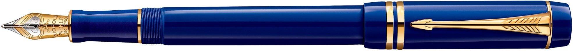 Перьевая ручка Parker Duofold Historical Colors Centennial F77, Lapis Lasuli GT в Воронеже