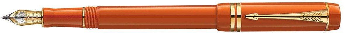 Перьевая ручка Parker Duofold Historical Colors Centennial F77, Big Red GT в Воронеже