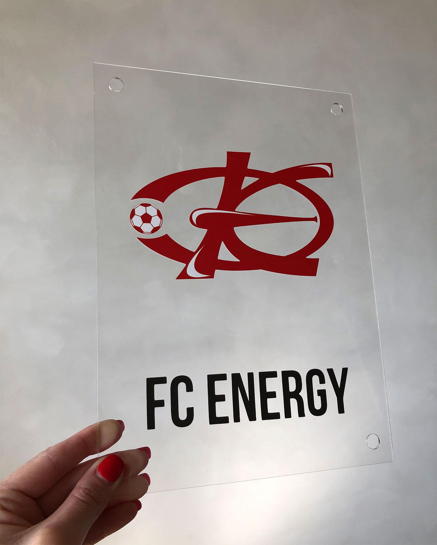 табличка-на-оргстекле-FC-ENERGY-Воронеж